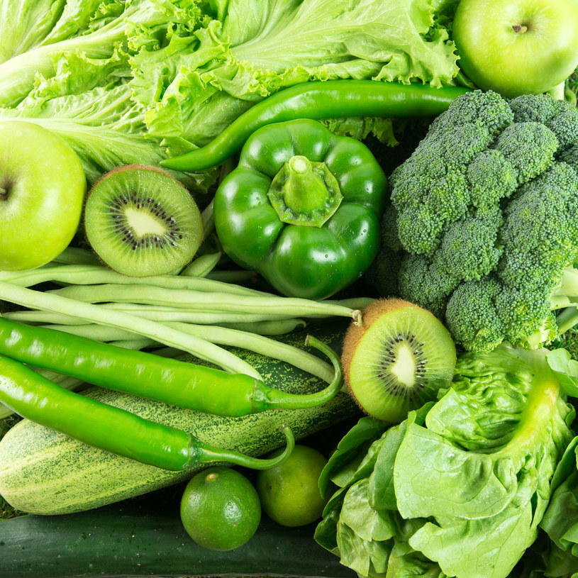 Zielone warzywa i owoce /123RF/PICSEL