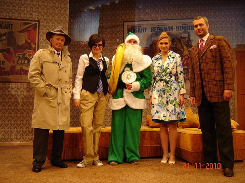 Zielonego Mikołaja popierają m.in. aktorzy Teatru 6 piętro  /materiały prasowe