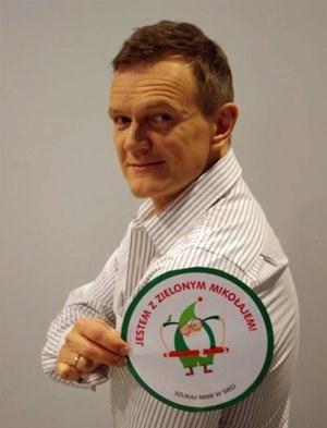 Zielonego Mikołaja wspiera m.in. Cezary Pazura, fot. Fundacja Mimo Wszystko /