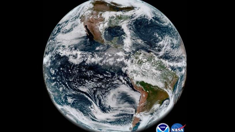 Ziemia widziana przez GOES-17 /NASA