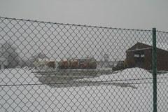 Zima atakuje, a piaskarki stoją w bazie na Podkarpaciu