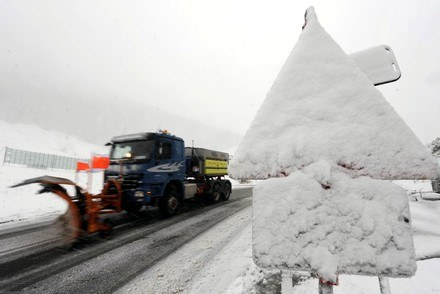 Zima atakuje /AFP