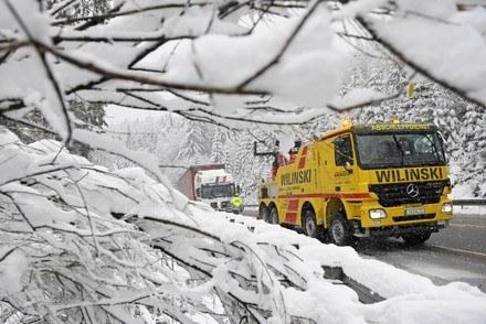 Zima w Niemczech /AFP