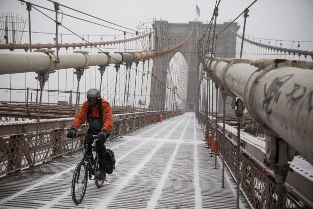 Zima w Nowym Jorku /AFP