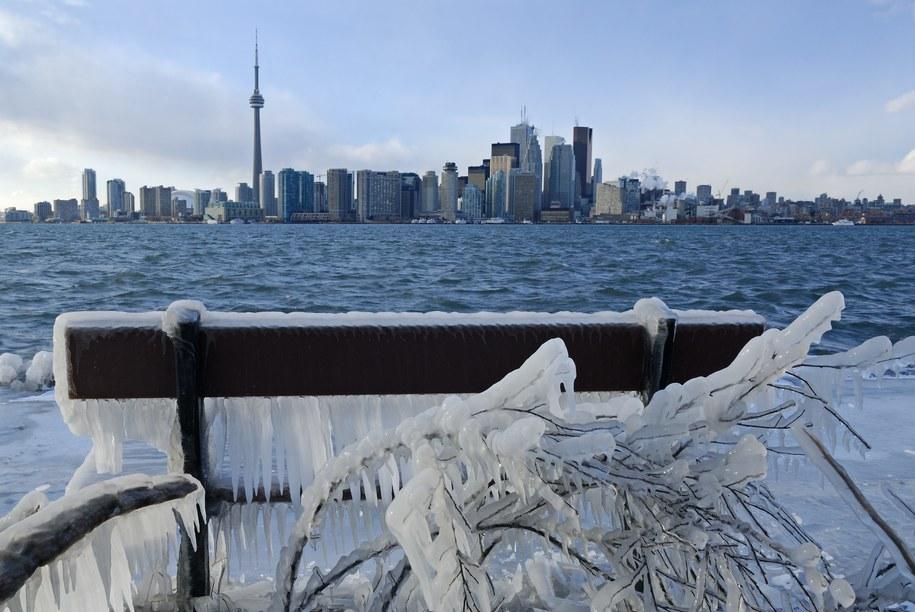 Zima w Toronto /CHROMORANGE  /PAP/EPA