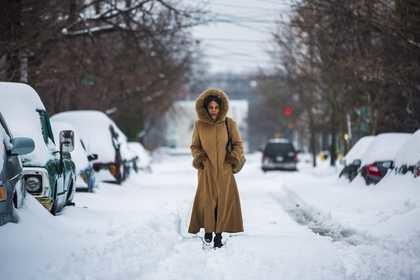 Zima w Waszyngtonie /JIM LO SCALZO /PAP/EPA