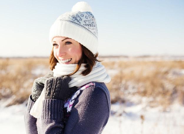 Zimno może dodać ci nie tylko zdrowia, ale i urody /123RF/PICSEL