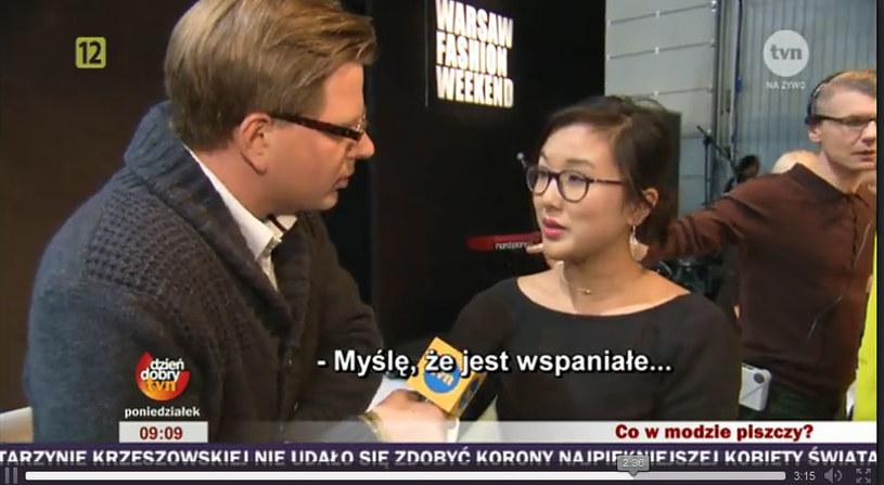 Zimowa kolekcja szwajcerskiego duetu Schleswig&Holstein ma dobre detale /Agencja TVN/Dzień dobry TVN