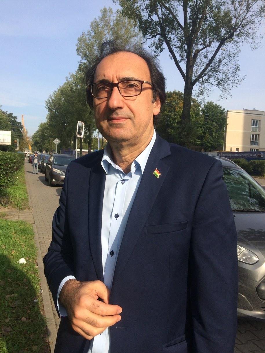 Ziyad Raoof, pełnomocnik rządu regionalnego Kurdystanu w Polsce /Marcin Cieślak  /RMF FM