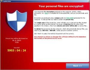 Złap tego wirusa a pożegnasz się z dostępem do swoich plików