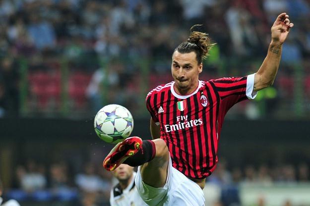 Zlatan Ibrahimovic, gwiazda włoskiego AC Milan /AFP