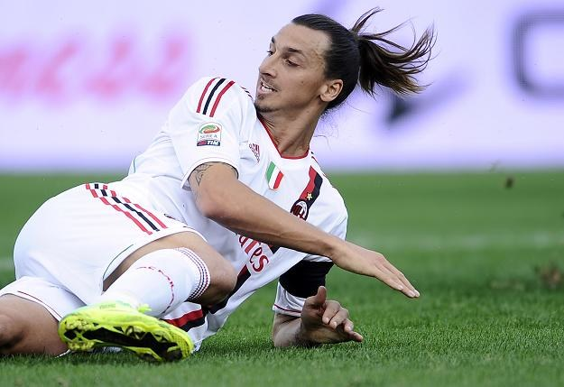 Zlatan Ibrahimovic (na zdjęciu) zdobył czwartą bramkę dla Milanu /AFP