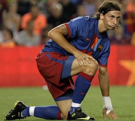 Zlatan Ibrahimovic nie zdołał pokonać Givena /AFP