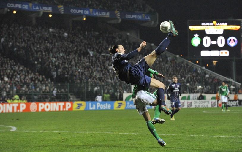 Zlatan Ibrahimović tym razem nie zdobył bramki /AFP