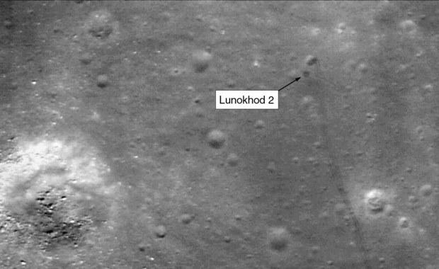 Zlokalizowano ślady Łunochoda 2