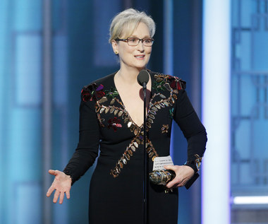 Złote Globy 2017: Meryl Streep krytykuje prezydenta Trumpa