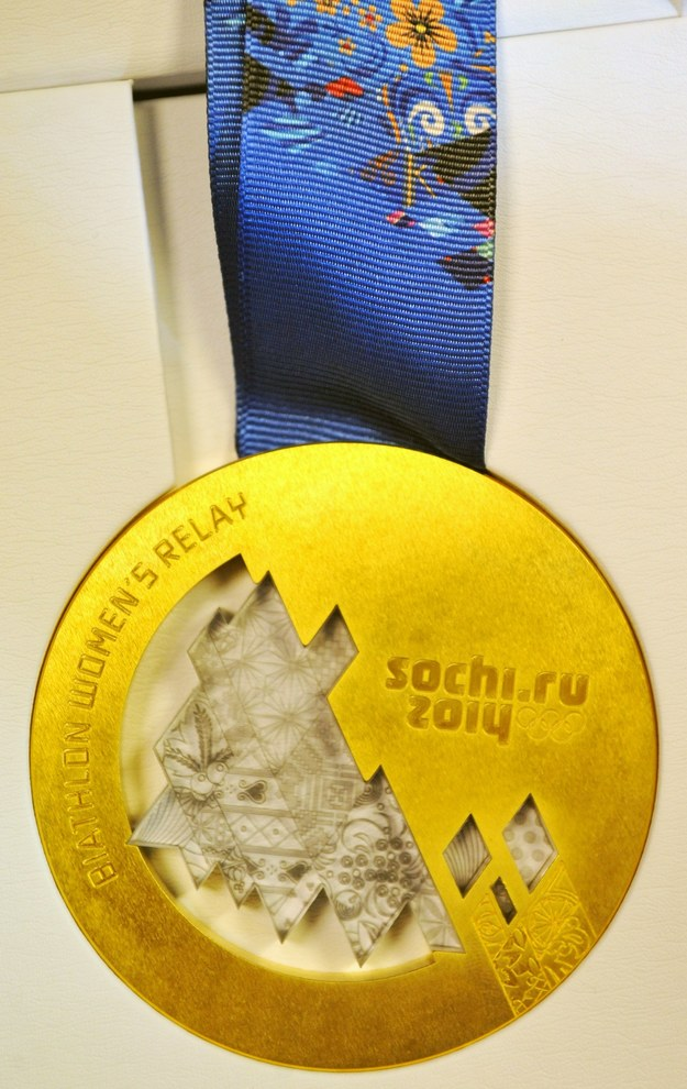 Złote medale czekają na olimpijczyków /AFP