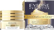 Złoty krem-eliksir na twarz, szyję i dekolt Eveline Cosmetics