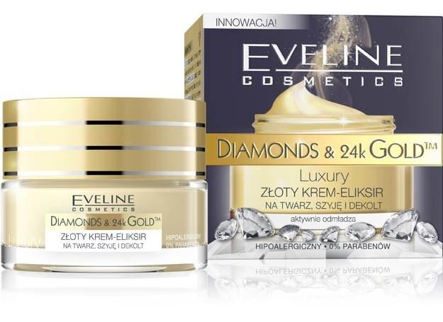 Złoty krem-eliksir na twarz, szyję i dekolt /materiały prasowe