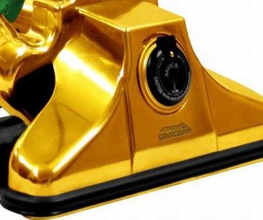 Złoty odkurzacz za milion dolarów