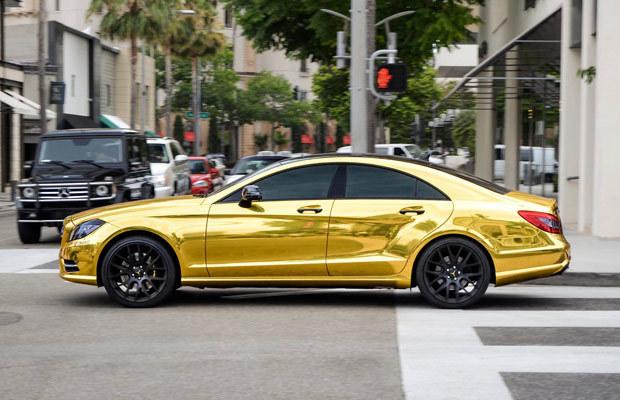 Złoty pociąg jest passe! Pora na złotego Mercedesa! /