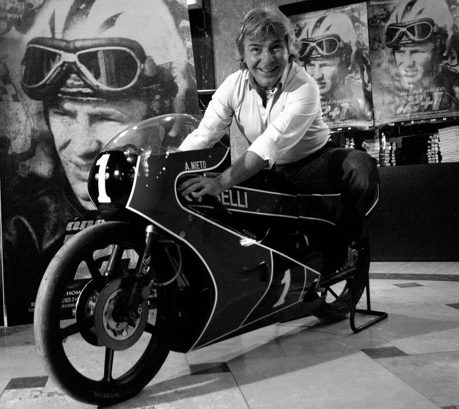 Zmarł trzynastokrotny motocyklowy mistrz świata Angel Nieto /ECHAVARRI /PAP/EPA