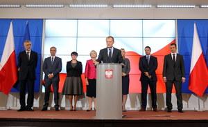 Zmiany w rządzie. Donald Tusk przedstawił nowych ministrów