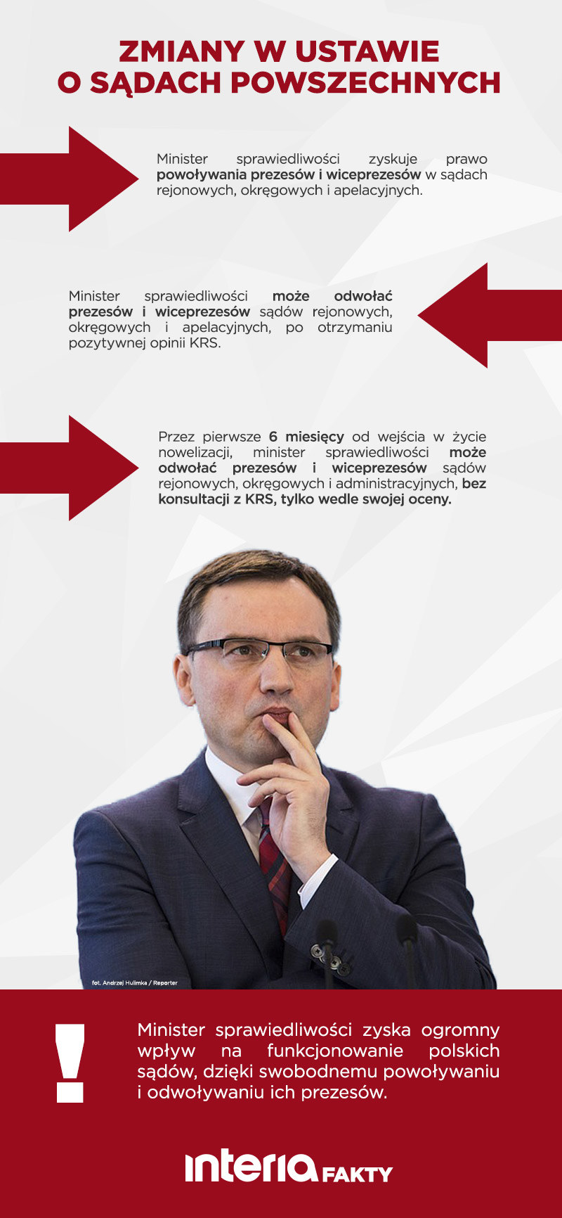 Zmiany w ustawie o sądach powszechnych /INTERIA.PL