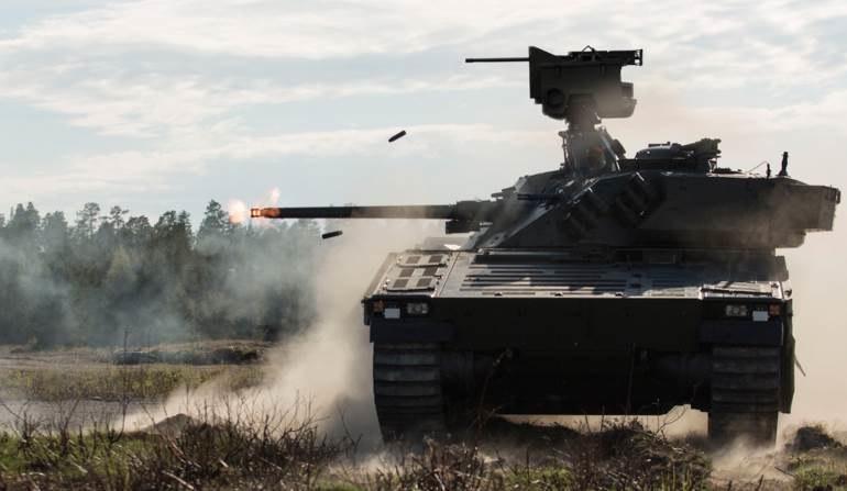 Zmodernizowana platforma CV-90 wykorzystywana przez siły zbrojne Norwegii /Defence24