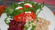 Zmodyfikowana salatka Caprese