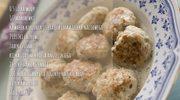 Zmysłowe smaki: Klopsiki z indyka w sosie koperkowym