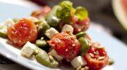 Zmysłowe smaki: Letnia sałatka z bobem, fetą i arbuzem