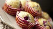 Zmysłowe smaki: Muffiny z białą czekoladą i malinami
