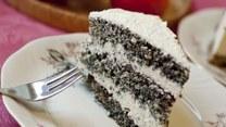 Zmysłowe smaki: Tort makowy
