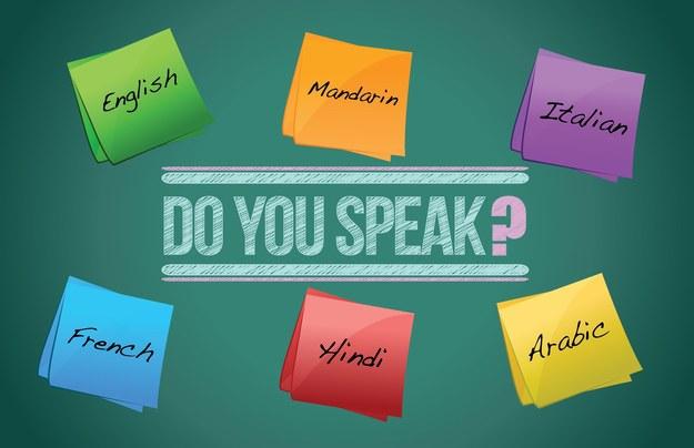 Znajomość języków obcych ma wpływ na wynagrodzenie /123RF/PICSEL