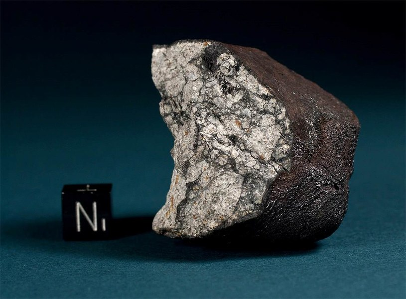 Znaleziony fragment meteorytu: Fot. Svend Buhl / Meteorite Recon /Wikipedia