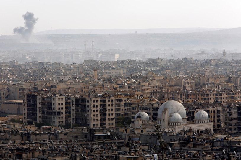 Zniszczenia w Aleppo / REUTERS/Omar Sanadiki /Agencja FORUM