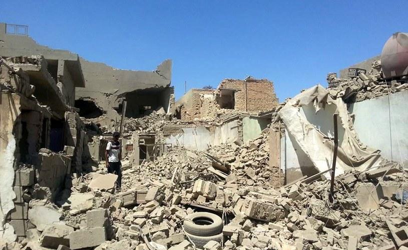 Zniszczenia w Iraku /PAP/EPA