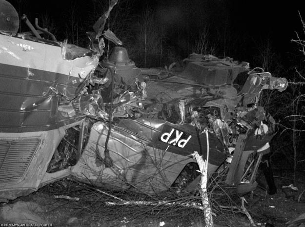 Zniszczeniu uległy dwa wagony towarowe i jeden osobowy (zdjęcie ilustracyjne) /Przemek Graf /Reporter