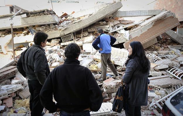 Zniszczone miasto Lorca /AFP
