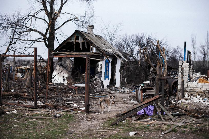 Zniszczony dom w rejonie konfliktu /AFP