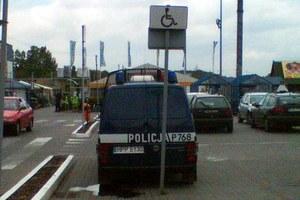 Znów o parkowaniu policji