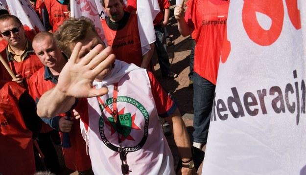 Znowu będą protesty przed siedzibą Kompanii Węglowej? /Marek Kuwak /Reporter