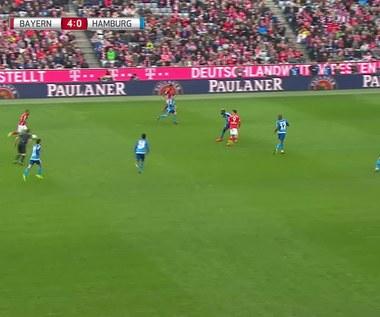 Zobacz hat-tricka Lewandowskiego z HSV. Wideo