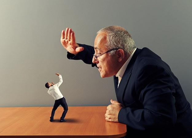 Zobacz, jak się bronić przed szefem - psychopatą /123/RF PICSEL