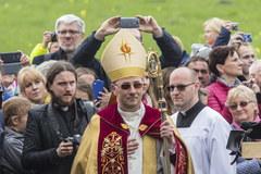 Zobacz, jak wyglądało nabożeństwo ekumeniczne na Ostrowie Tumskim