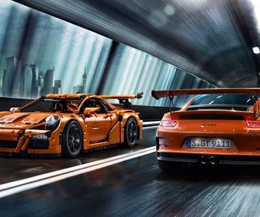 Zobacz naturalnej wielkości Porsche z klocków