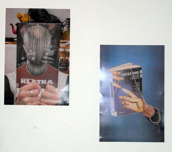 sleeveface czyli książka plus czlowiek