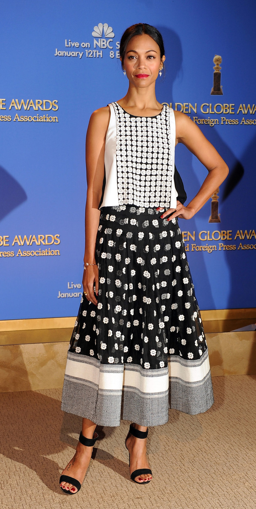 Zoe Saldana /Getty Images/Flash Press Media