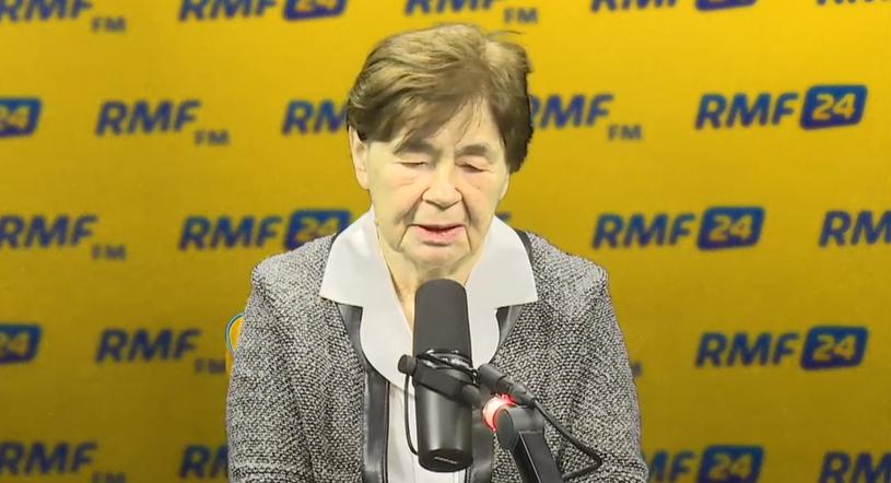 Zofia Romaszewska w Porannej rozmowie /RMF